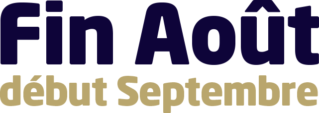 Agence Fin Août début Septembre